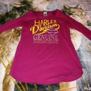 Donating soon!! Harley Davidson long sleeved shirt
